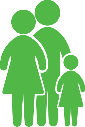 family group of three - Calculateur